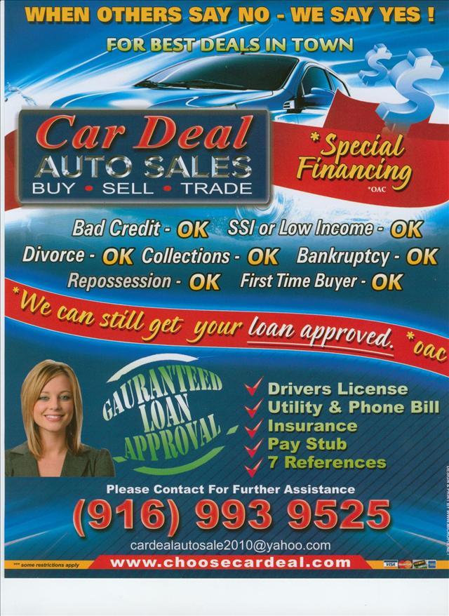 Used Cars Luxury Cars Specials Sacramento CA 95841 - Car Deal Auto Sales - car sale flyer